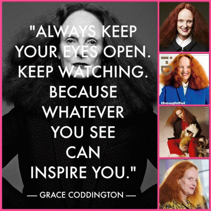 Grace Coddington (born April 20, 1941) is a former model. At the age of 26, she was in car accident that left her with head injuries and a removed eyelid. Two years after the accident she was interviewed by British Vogue's Editor, Beatrix Miller, and was employed as a Junior Editor. After nineteen years as Photo Editor with British Vogue, she moved to New York to work for Calvin Klein. In July 1988, she joined Anna Wintour at American Vogue, where she remains the magazine's creative…