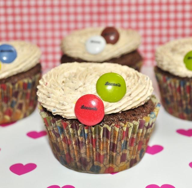 Belle cupcakes: LACASITOS CUPCAKES Y...LA FIERA QUE LLEVO DENTRO!!