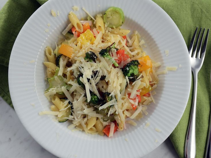 Paolos pasta med rostade grönsaker   Recept från Köket.se