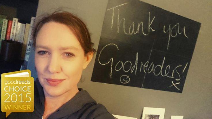 Paula Hawkins köszönete a Goodreads díjért az olvasóknak.  Bővebben itt olvashatsz: http://21.szazadkiado.hu/2015-legjobb-konyvei-dij-nyertesei-a-goodreads-szerint-44