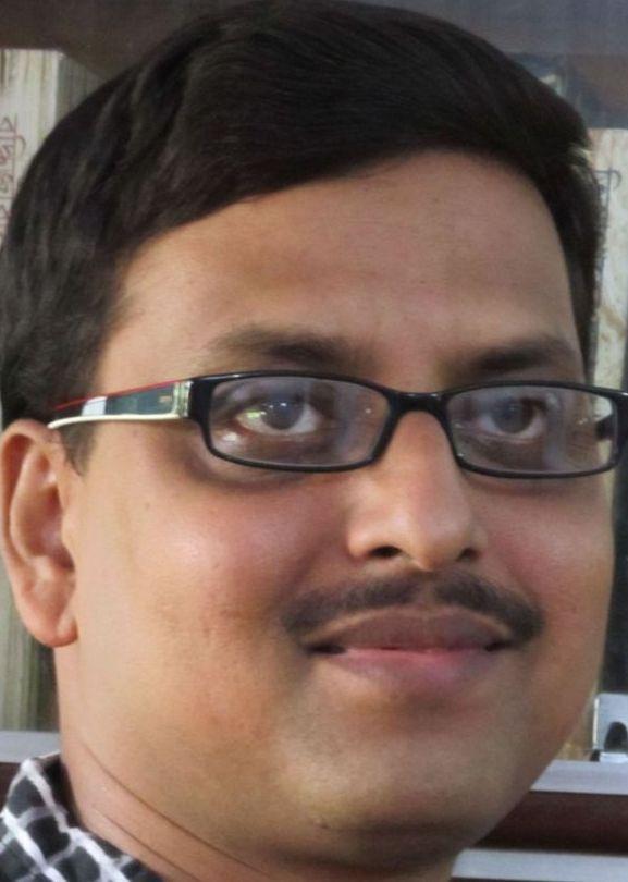 Indian poet Angshuman Kar, featured on PI in December 2013.