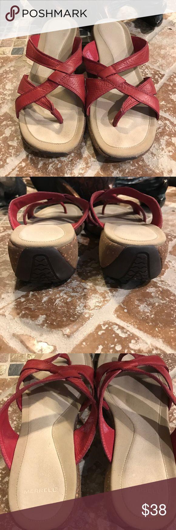 Merrell sandals !! Size Like bran new! Merrell Shoes Sandals