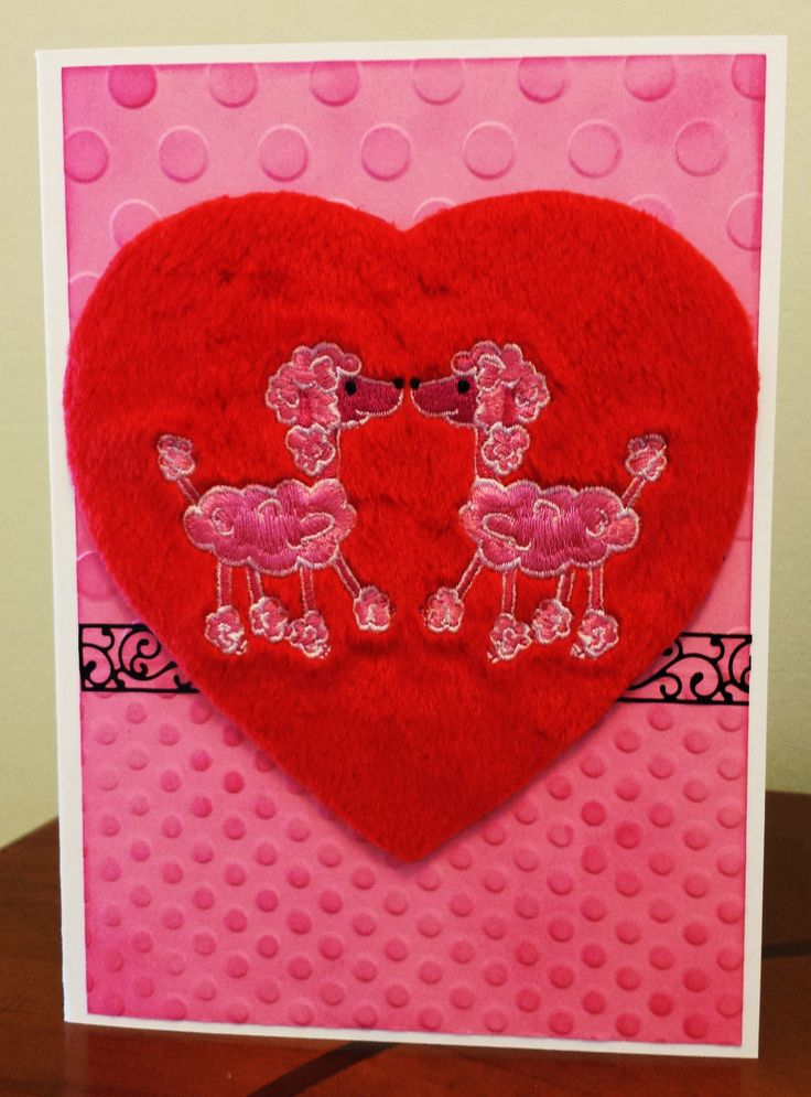 valentines card handmade