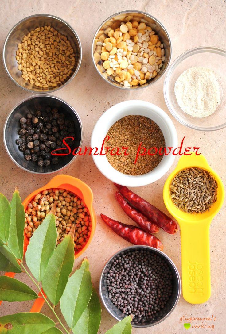 ホームメイド☆サンバルパウダー           南インド料理のサンバル(豆と野菜のホットサワースープ)用ミックススパイス。ラッサム(黒胡椒サワースープ)にも使えますよ。