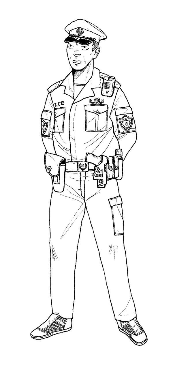 Printable Policeman Coloring Pages Free Coloring Sheets Cars Coloring Pages Coloring Pages For Kids Coloring Pages