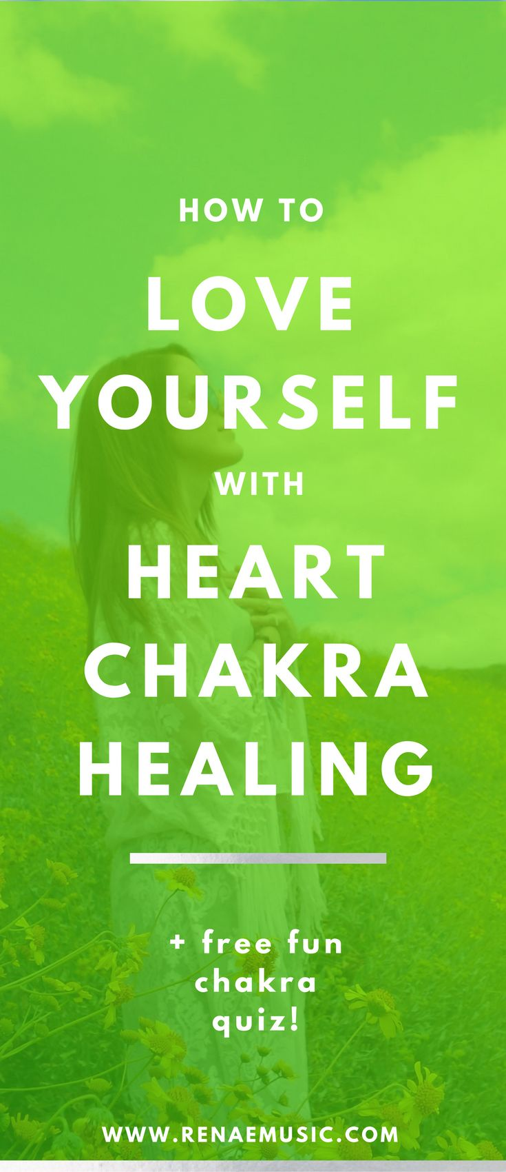 How to love yourself with heart chakra healing. Chakra cleanse, love yourself, chakra meditations, self care routine, self care for women, self care worksheet, meditation for beginners, finding purpose, root chakra, third eye chakra, festival fashion, yog http://kundaliniyogameditation.com/