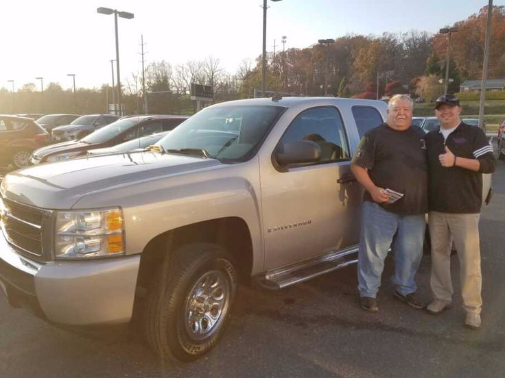 Congratulations Donald Stewart, on the purchase of your 2008 Chevy Silverado - Team Lang!
