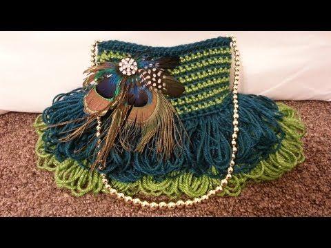 #Crochet Handbag Purse #TUTORIAL #DIY Crochet Bag Pretty Handbag - YouTube