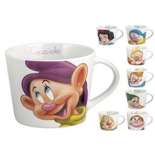 "Set Tazze Disney Colazione - 8 Tazze Disney ""Biancaneve e i 7 Nani"" Disney Original - http://www.shoolit.com/it/disney-articoli-vari/701-disney-set-8-tazze-colazione-sette-nani-e-biancaneve.html"