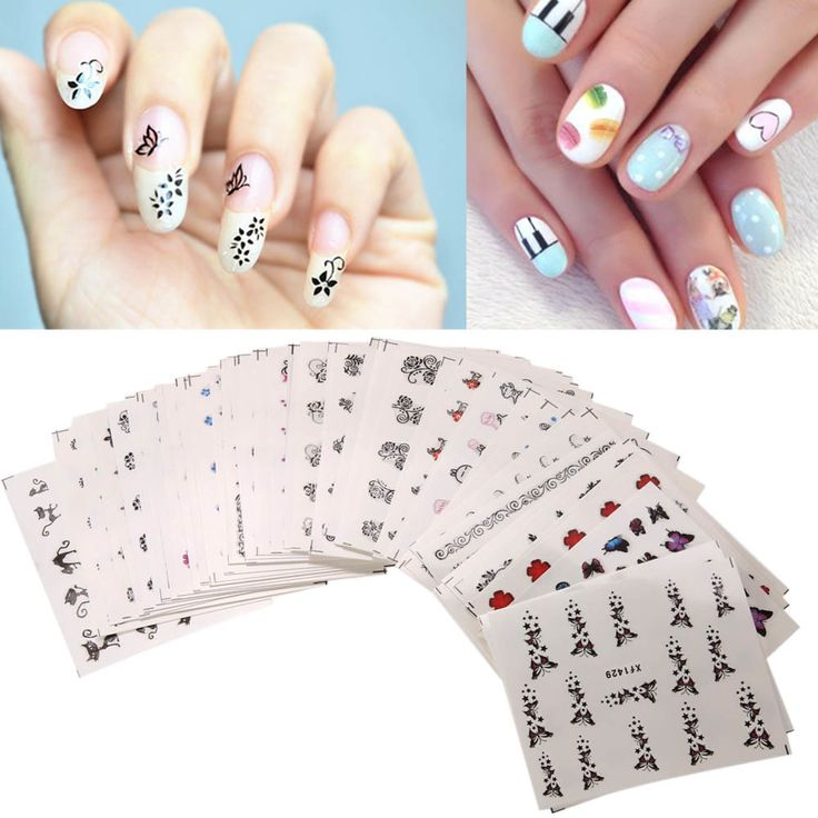 Les 1642 meilleures images du tableau november 2017 beauty 1112 50pcs watermark stickers mixed flower decorations manicure polishing tips christmas decoration sticker decals for nail prinsesfo Image collections