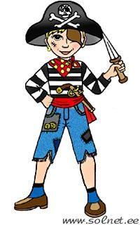 Новогодний костюм благородного пирата