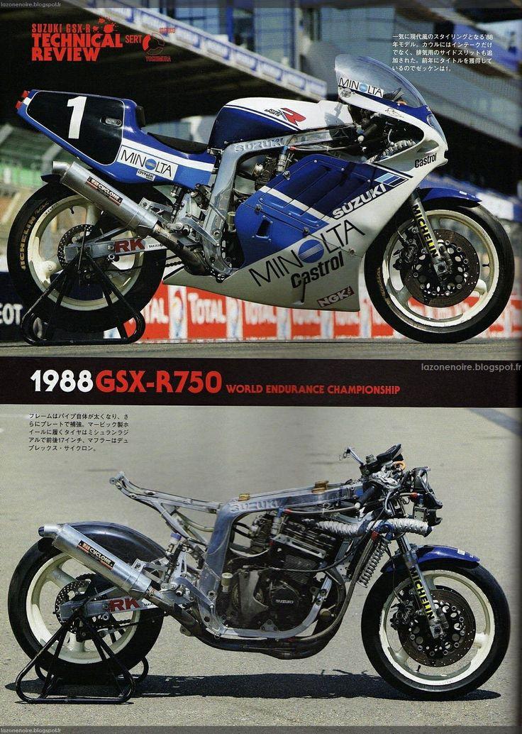 '88 Suzuki GSXR750.