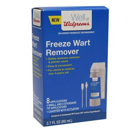 Walgreens Freeze Wart Remover - 8 Applications