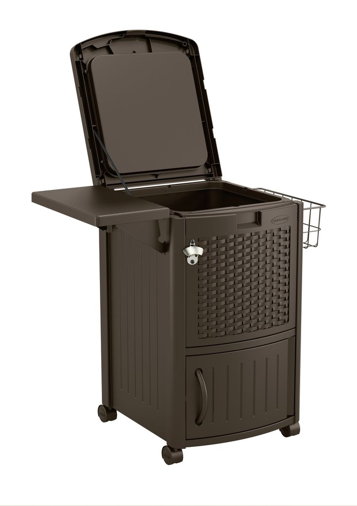 Cooler Station® Patio Cooler - Patio Accessories - Patio & Yard - Suncast® Corporation