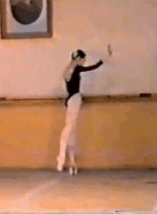 ryanishka:   Diana Vishneva Vaganova Ballet Academy graduation exam, 1995  THIS VIDEO IS INSANE