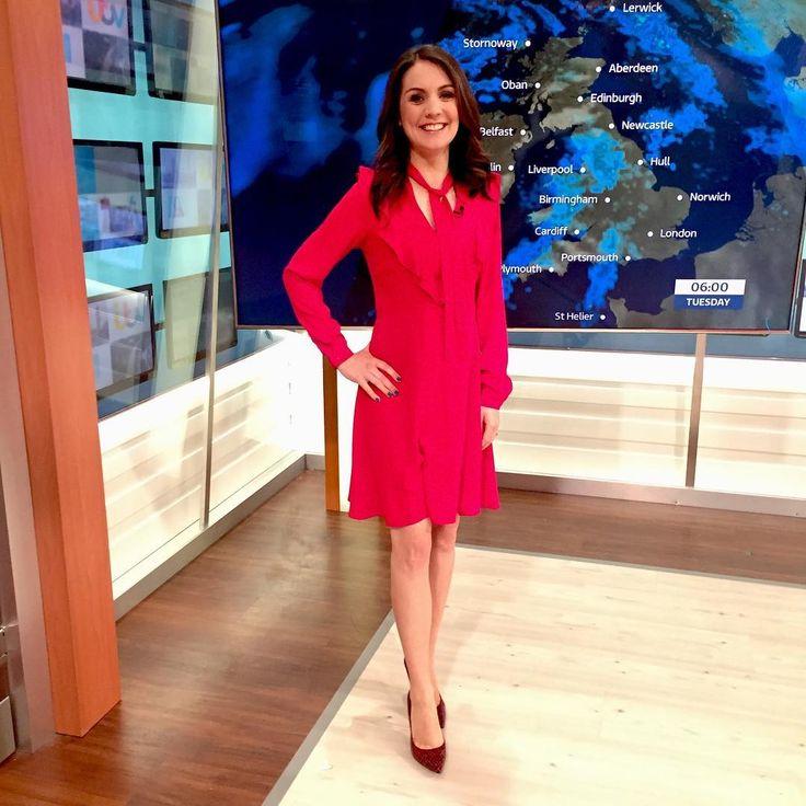 "72 Likes, 3 Comments - Debbie Harper (@debbiedresses) on Instagram: ""@gmb Laura Tobin wearing RedHerring @debenhams dress @lkbennettlondon shoes! #studiostyle…"""