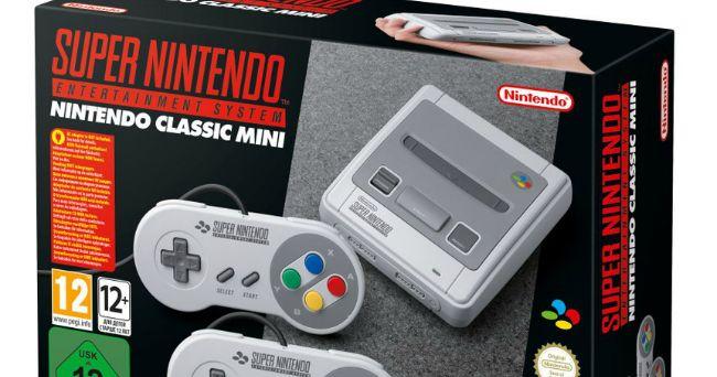 Nintendo официально анонсировала консоль SNES Mini