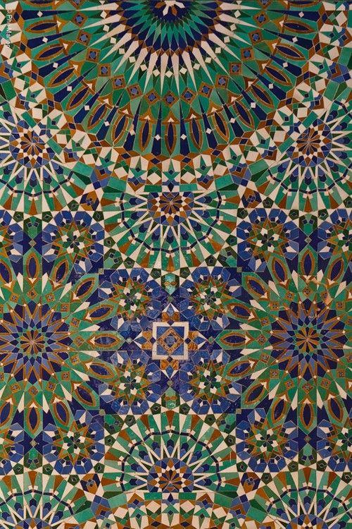 Islamic Art - love the colours