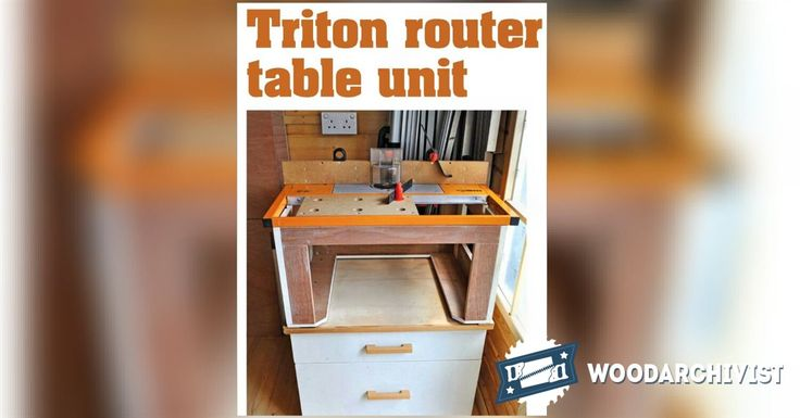 fine woodworking triton router review