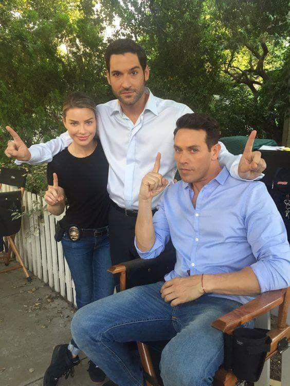 Lucifer actors on point...Love them!