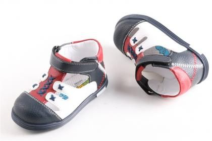 Şirin Bebe - Erkek Bebe Laci-beyaz Mikrofiber Deri Poli Taban Comfort İlk Adım Ayakkabı