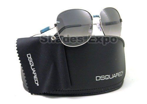 DSQUARED SUNGLASSES DQ 0033 16B BLACK DSQURED2. Brand: DSQUARED. Model: DQ 0033. Color Code: 16B. Made in ITALY. Lens Characteristics:.
