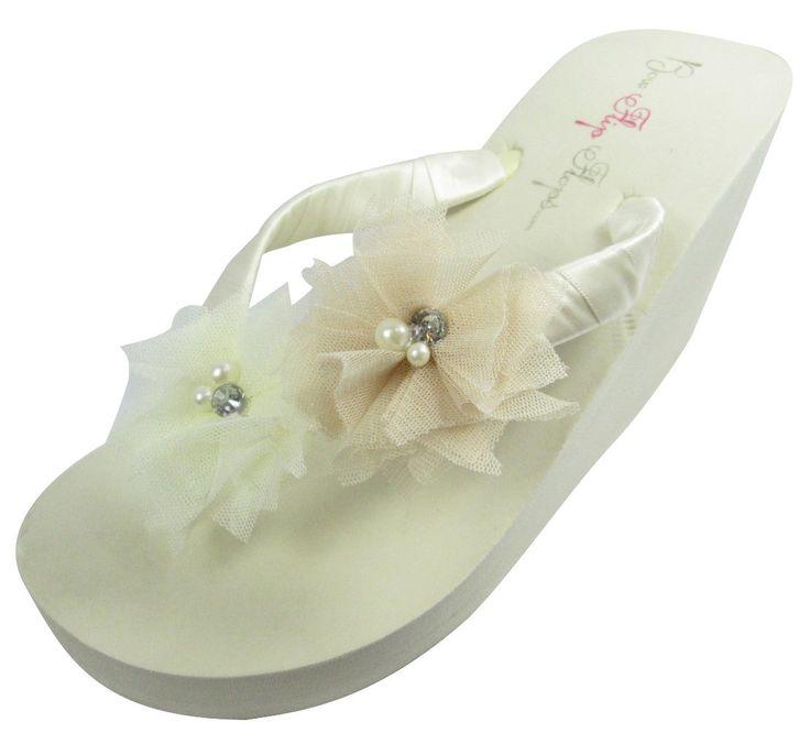 18 Best Bridal Flip Flops On Amazon Images On Pinterest -1902