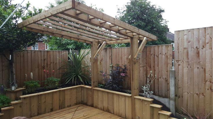 Cantilever Pergola Garage Pergola Wooden Pergola Deck