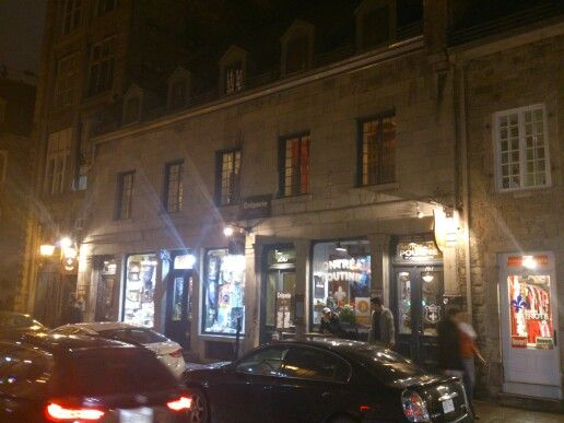 Old buildings in old Montreal