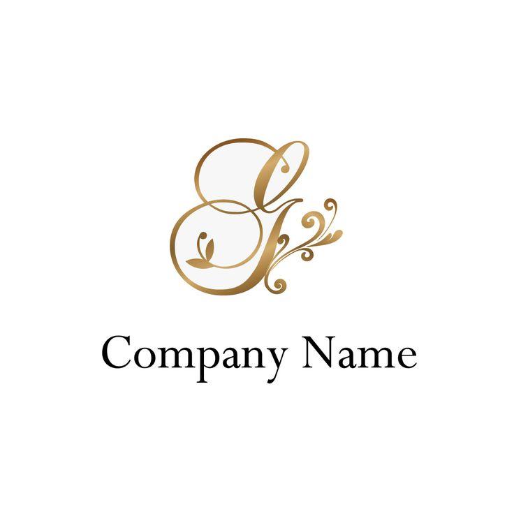 ロゴデザインNo415(美容・エステ・ネイル/ゴージャス/ゴールド/高級感) 縮小画像1