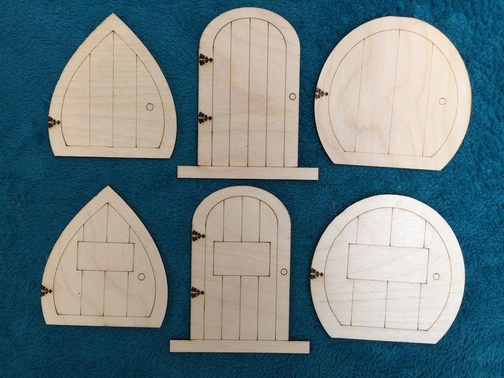 Derwentlc uploaded this image to 39 wooden shapes fairy for Wooden elf door