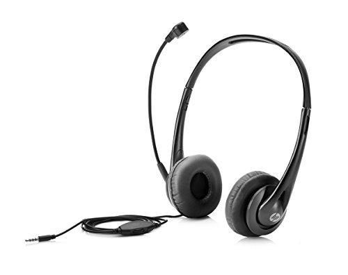 HP Wired Mic Headset w/ Microphone for PC (3.5mm Stereo Connector)