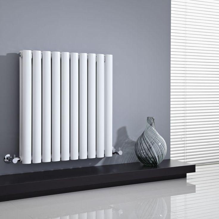 We love the simple style of the Milano Aruba 635mm x 595mm horizontal radiator.