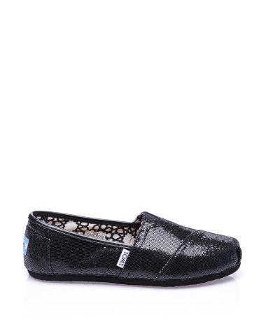 Toms Siyah Simli Düz Espadril  #espadril #kanvasayakkabı #toms #fashion #moda #yazlıkayakkabı #bezayakkabı #shoes #canvasshoes #fashion #trend #style #look #moda #2016modası