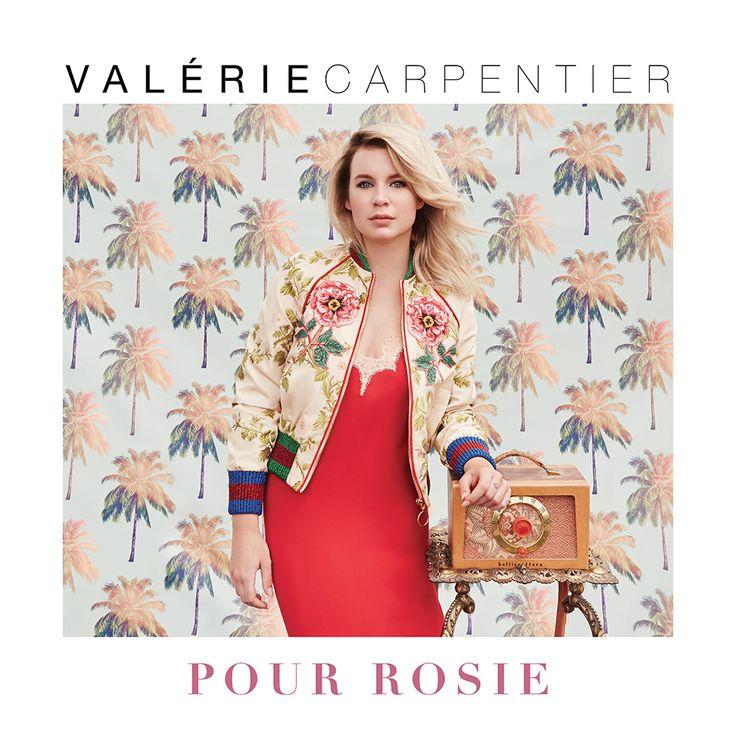 Valérie Carpentier   Pour Rosie (Productions J)Après un album éponyme vendu à plus de 50000 copies, Valérie Carpentier nous fait découvrir son nouvel opus : Rosie. Artiste plébiscitée par le public lors de la toute première saison de La Voix sur les...