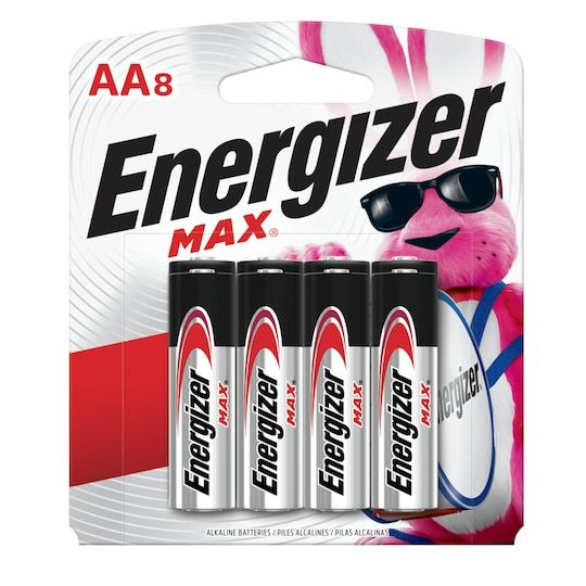 Energizer Max Aa Household Batteries 8ct In 2021 Household Batteries Energizer Energizer Battery