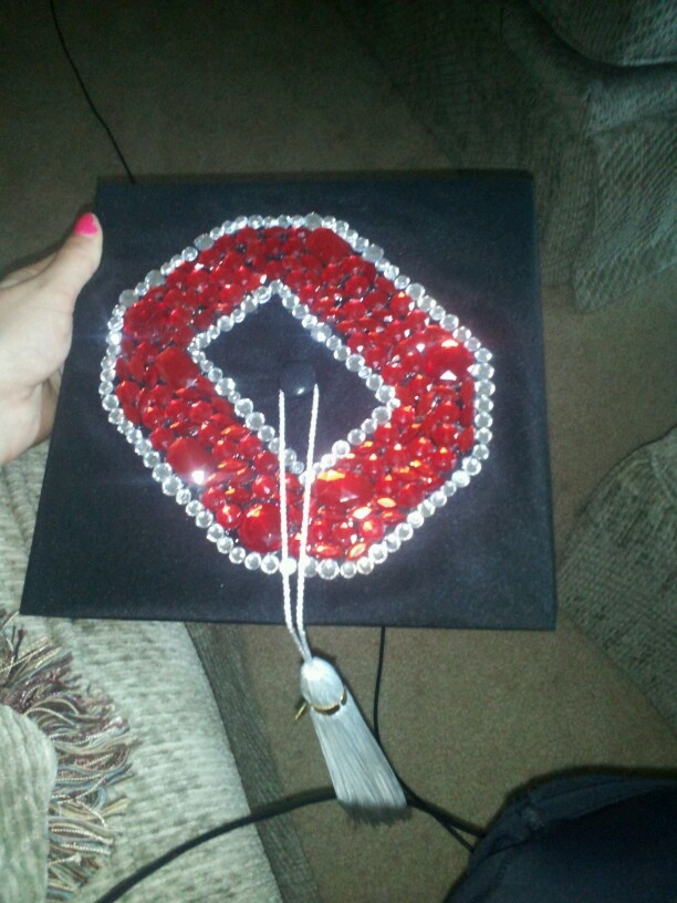 Ohio State University Graduation Cap