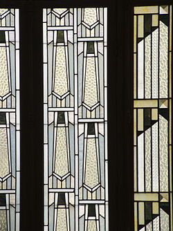 Detail Stained glass reading room Carnegie Library, Reims.jpg