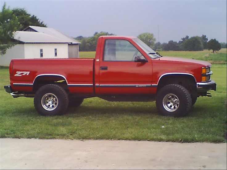Red  2006 Chevy Silverado 1500  single cab 4x4 | TENNESSEEZ71's Chevrolet1500 Regular Cab