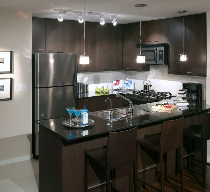 5 space saving appliances small kitchen owners need granite counters breakfast bars and track - Space saving appliances small kitchens minimalist ...