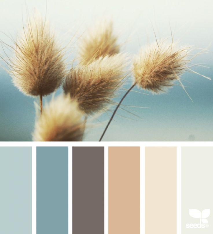 Harmonie bleu zen I Design I Couleur I Inspiration I Camaïeu I Peinture I