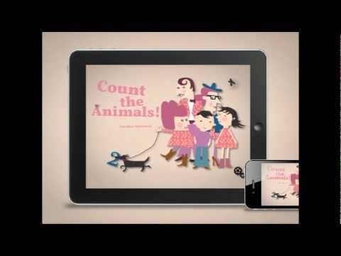 Trailer for Count the Animals! for iPhone and iPad