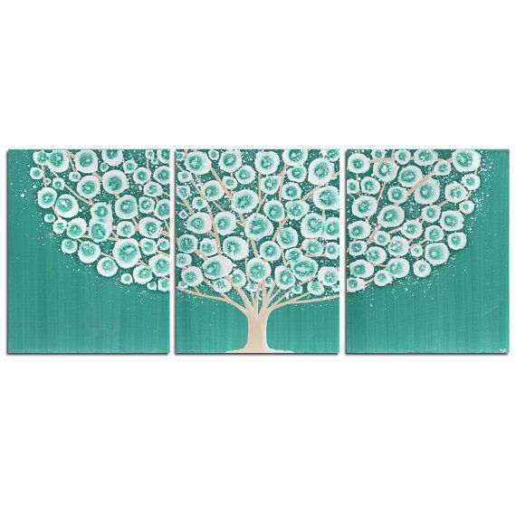 Hey, I found this really awesome Etsy listing at https://www.etsy.com/listing/106132933/canvas-art-tree-painting-original
