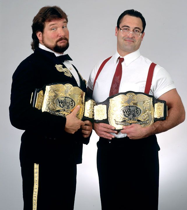 WWF World Tag Team Champions Money Inc. I liked this team, but they cheated way too much.
