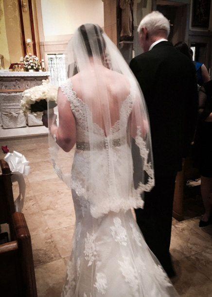 Fingerspitze Schleier Hochzeitsschleier Lace von OneBlushingBride