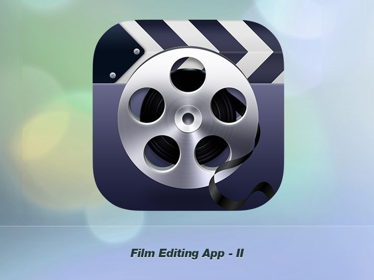 Film Editing Application Icon II by Hariana Verdes (Bucharest). This is a fun icon. It is very clean and sharp. I like the simplicity of the design. I know right away that it is represent the clapper board and film reel. The colors look like they belong together. I like how the designer stuck to mainly one color along with the white and black. The slight shading across the whole icon gives it a 3-D feel. Space is used up nicely.