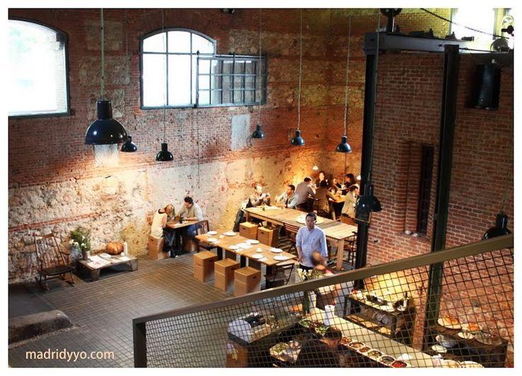 La cantina del matadero plaza de legazpi 8 madrid www - Singular kitchen madrid ...