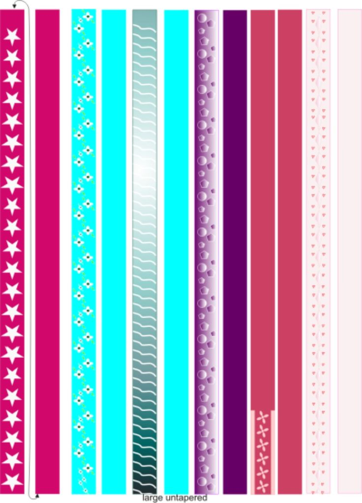 graphic relating to Printable Paper Bead Templates titled Printable Paper Bead Templates Paper Beads Pinterest . Property