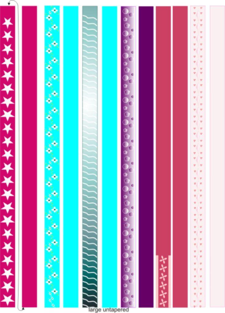 image regarding Printable Paper Bead Templates referred to as Printable Paper Bead Templates Paper Beads Pinterest . Household
