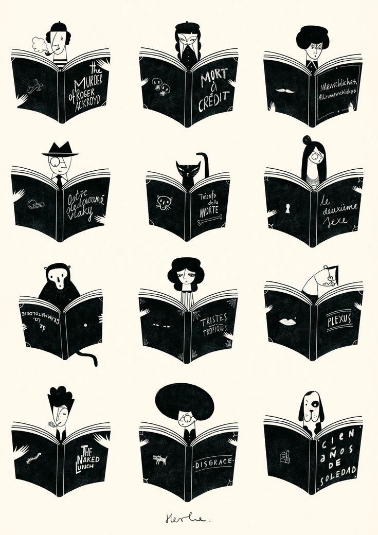 Bibliophilia on Behance